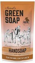 Marcel's green soap navulling 500 ml - Sandelhout en Kardamom