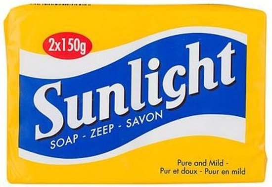 SUNLIGHT Zeep Huishoudzeep 2 x 150 g