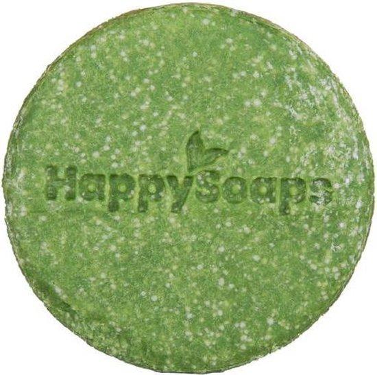 HappySoaps Aloë You Vera Much Shampoo Bar 70gr - Anti-roos vrouwen - Voor Beschadigd haar/Gevoelige hoofdhuid/Hoofdhuid met roos - 70gr