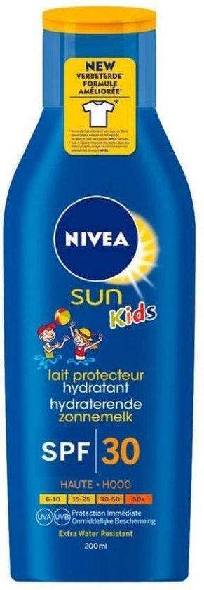 Nivea - UV-zonnemelk voor kinderen - Sun Kids SPF30 - maat 200ml