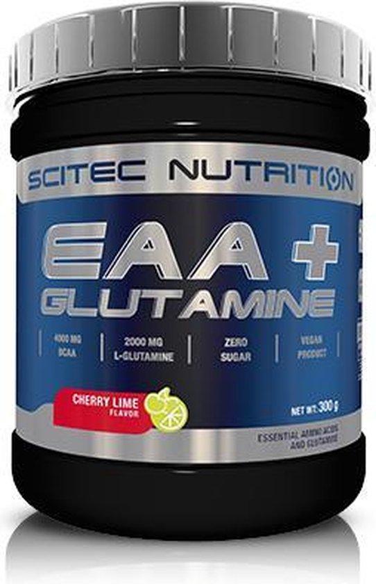 Scitec Nutrition - EAA + Glutamine (Cherry/Lime - 300 gram)