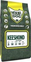 Volwassen 3 kg Yourdog keeshond hondenvoer