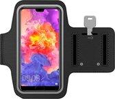 MMOBIEL Universele Hardloop Armband Zwart -Geschikt voor Apple Iphone, Samsung, Xiaomi, Huawei etc - Sportarmband - Hardlooparmband - Smartphone houder - Sportband - Telefoon Houder - Verstelbaar