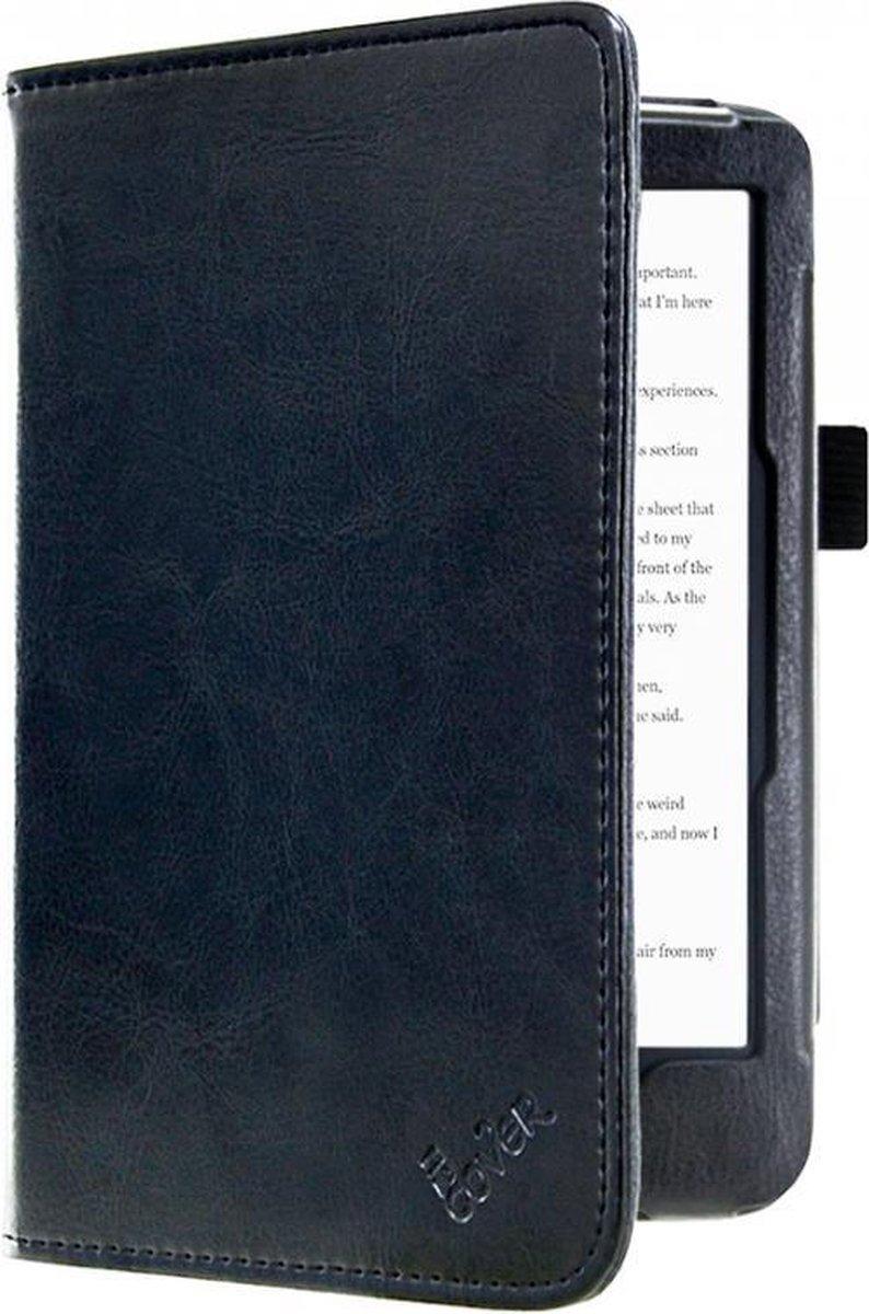 Kobo Clara Hd hoesje , Zwart Premium Hoes Case, extra luxe materiaal, SleepCover