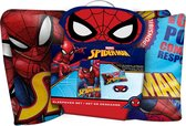 Marvel Logeerset Spider-man Junior 140 X 70 Cm Polyester 3-delig - Rood | Blauw