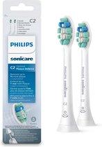 Philips Sonicare C2 Optimal Plaque Defence HX9022/10 - Opzetborstels - 2 stuks