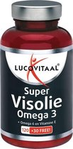 Lucovitaal Super Visolie Omega 3-6 Voedingssupplement - 150 Capsules