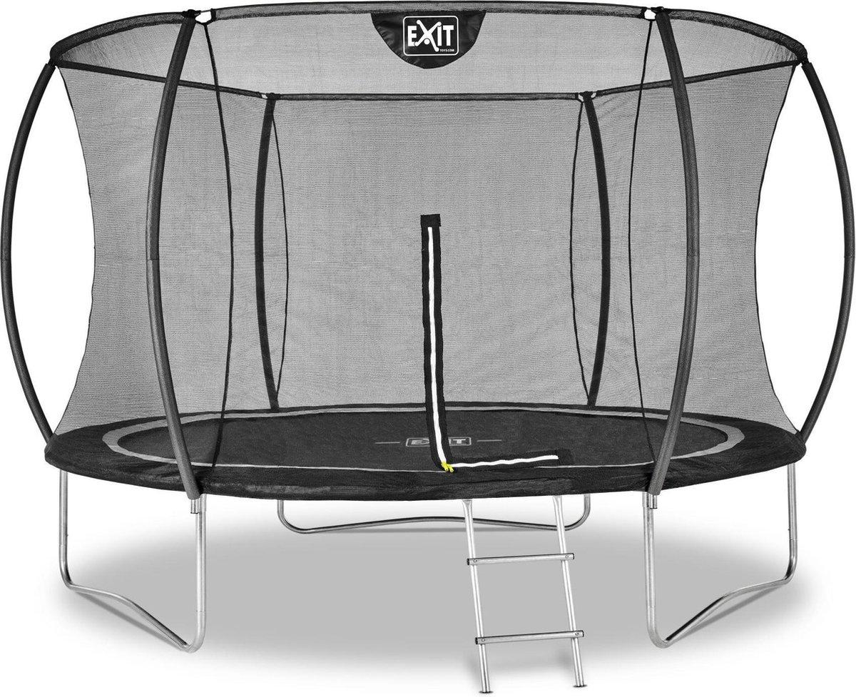 EXIT Black Edition trampoline ø305cm - zwart