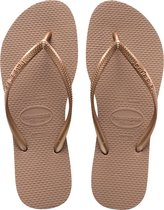Havaianas Slim Dames Slippers - Rose Gold - Maat 37/38