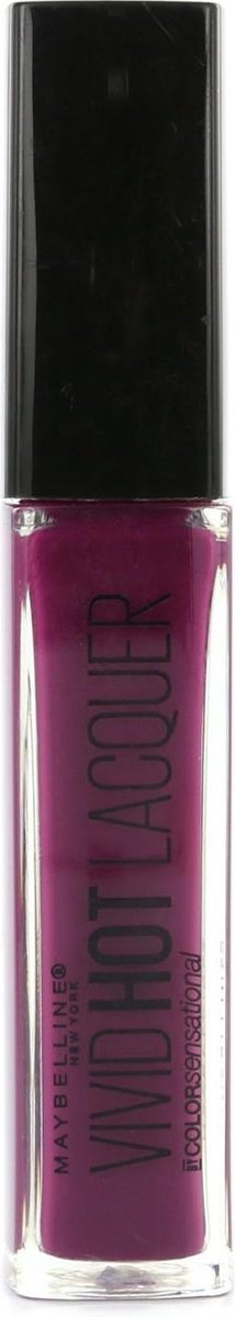 Maybelline Color Sensational Vivid Hot Lacquer - 76 Obsessed - Lippenstift - Maybelline