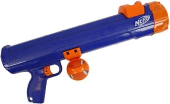 Nerf - Tennisball Blaster - Apporteerspeelgoed - Blauw - L - 50 cm