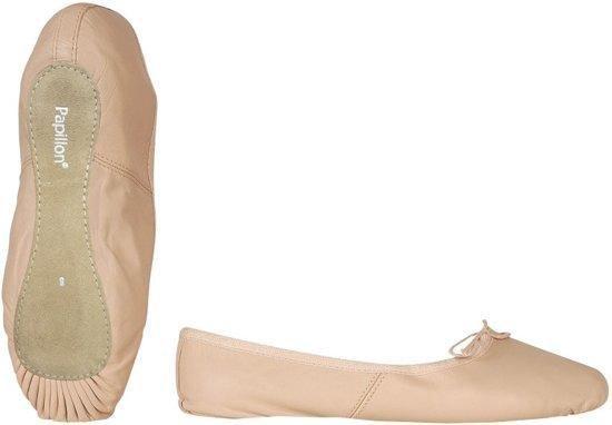 Papillon Roze Balletschoenen - Dames - Roze - Leer - Hele Zool - Maat 36 - Papillon