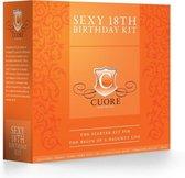 Shots Cuore Romantico set Sexy 18th Birthday Kit oranje,meerkleurig