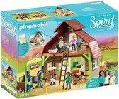 PLAYMOBIL Spirit Schuur met Lucky, Pru en Abigail - 70118
