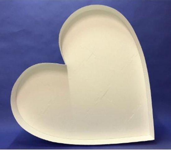 Ballon Mozaiek frame hartvorm (120cm)