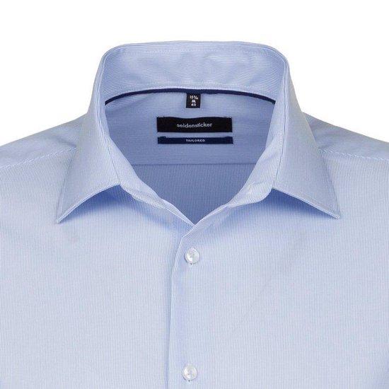 Herenkleding   Seidensticker 140269121000_39 Modern Fit Heren Overhemd