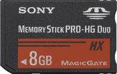 Sony MS-HX8B 8Gb MemoryStick Pro duo