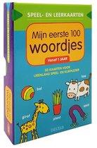 Speel- en leerkaarten 0 -   Speel- en leerkaarten - Mijn eerste 100 woordjes vanaf 1 jaar