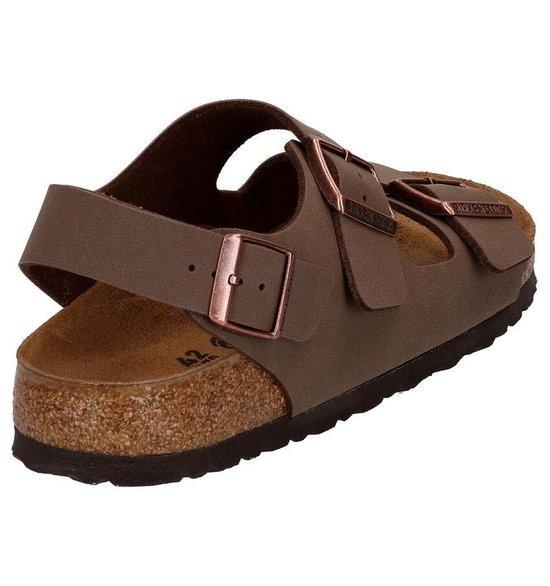 Birkenstock Milano Nubuck Mocca Slippers Heren Size : 41 Maat 41