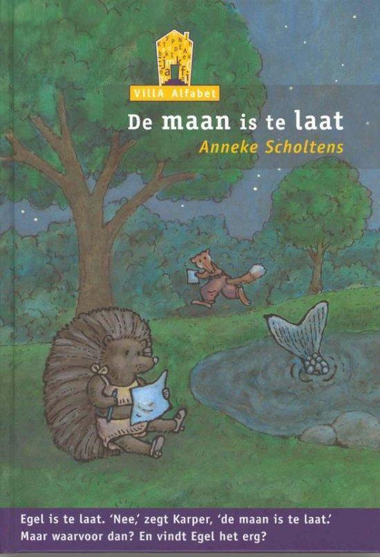 Cover van het boek 'De maan is te laat' van Anneke Scholtens