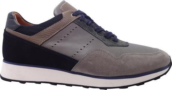 Van Driel Exclusive Sneakers Antwerpen Grijs Blauw