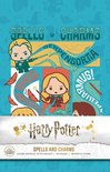 Harry Potter - Spells and Charms Hardcover Ruled Journal