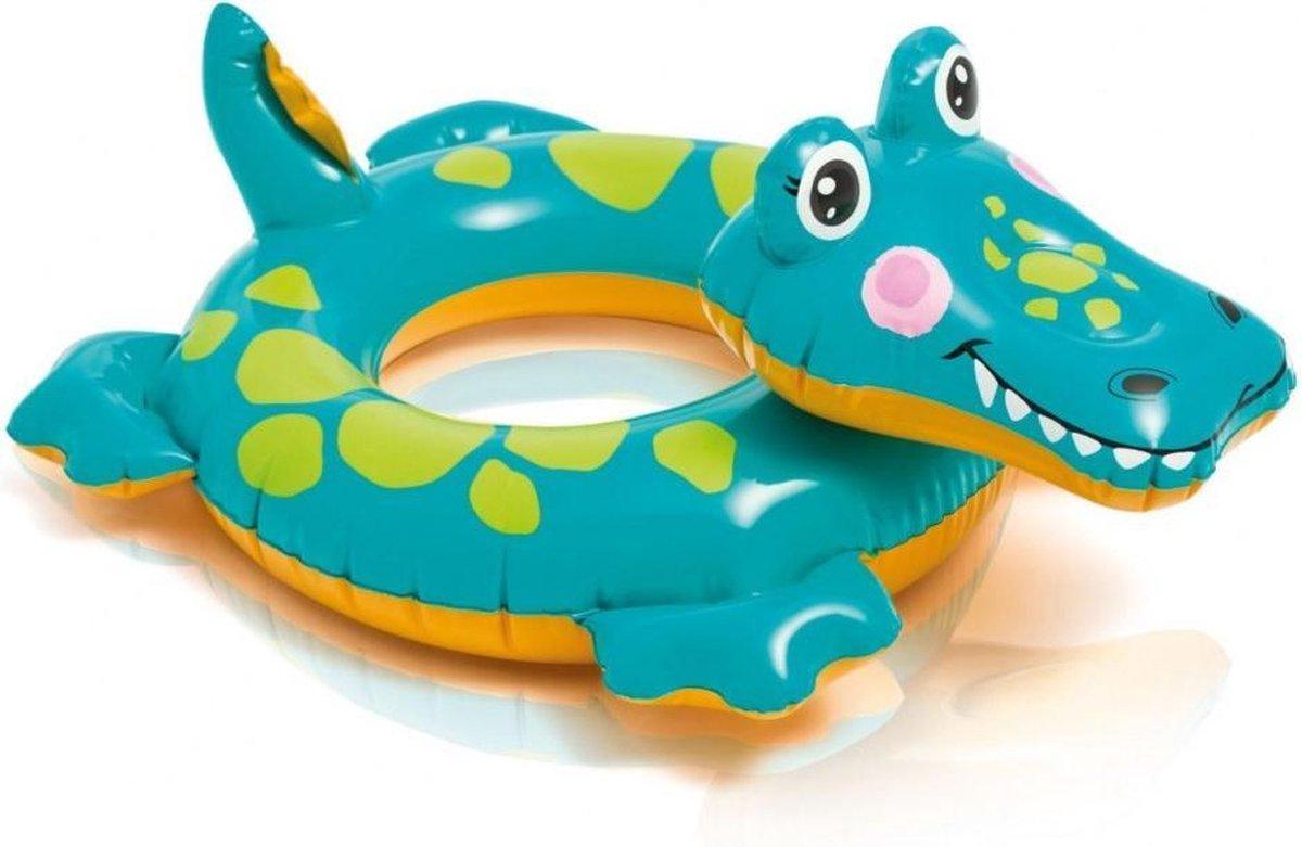 Intex Crocodile Animal Wheel