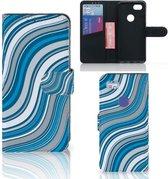 Google Pixel 3A XL Telefoon Hoesje Waves Blue