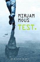 Boek cover Test. van Mirjam Mous (Paperback)