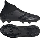 Predator 20.3 Laceless FG Kids Core Black