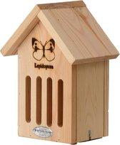 Vurenhouten vlinderhotel 23 cm - Hotel/huisje voor insecten - Huis/hotel voor vlinders