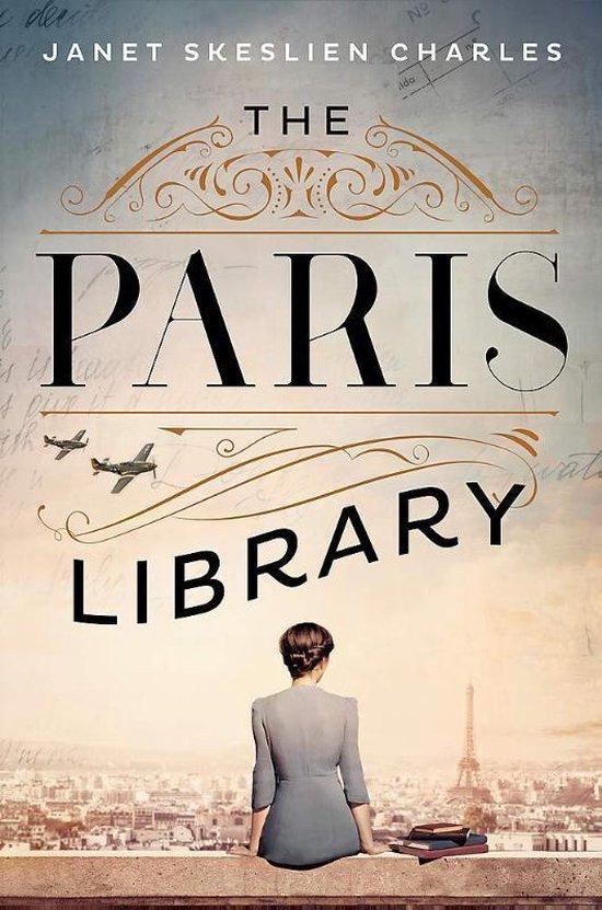 Boek cover Paris Library EXPORT van Janet Skeslien Charles (Paperback)