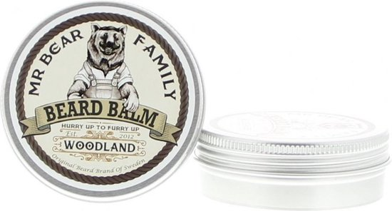 Mr. Bear Family Woodland Baardbalsem - 60 ml - 1 stuk