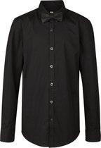 WE Fashion Regular Fit Jongens Overhemd - Black - Maat 170/176