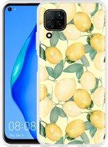 Huawei P40 Lite Hoesje Lemons