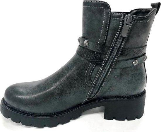Dames schoenen   Enkellaars Grijs
