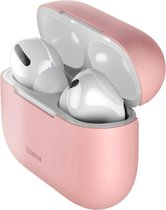Baseus Ultradun Siliconen Apple AirPods Pro Hoesje Roze