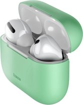 Baseus Ultradun Siliconen Apple AirPods Pro Hoesje Groen