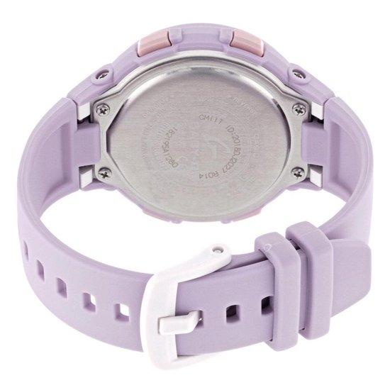 Casio - BSA-B100-4A2ER - Baby-G - horloge - Vrouwen - Roze - Kunststof Ø 38 mm