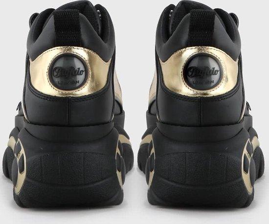 Buffalo London 1339-14 2.0 Black/gold Leather - Maat 39 7lJhcF