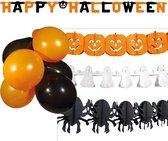 BOLAND BV - Halloween decoratie kit - Decoratie > Slingers en hangdecoraties