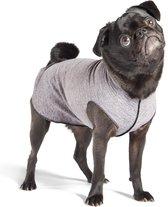 GoldPaw Sunshield Tee Pullover hondenjas Grijs met UV bescherming -maat 10 (5-15 kg)