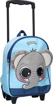 Lulupop & the Cutiepies Animals Rugzaktrolley - 8,25 l - Elephant