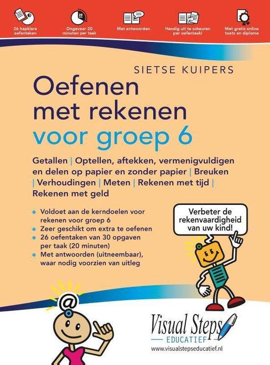 Boek cover Oefenen met rekenen voor groep 6 van Sietse Kuipers (Paperback)