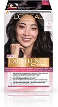 L'Oréal Paris Excellence Crème 1 - Intens Zwart - Haarverf