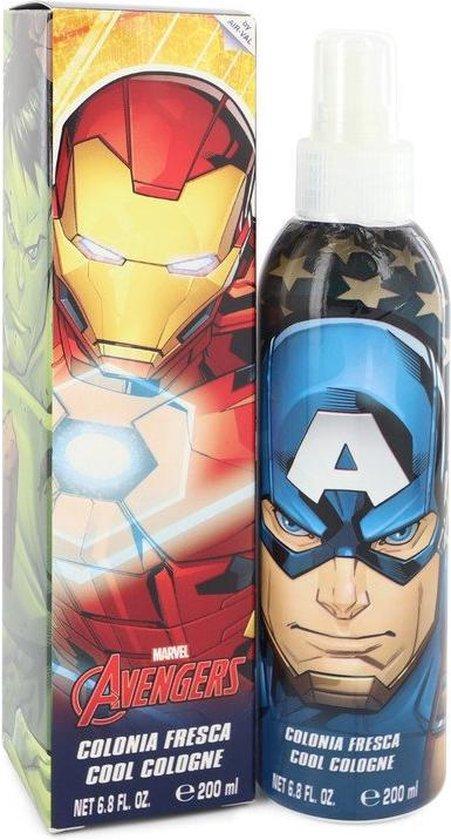 Marvel Avengers Cool Cologne Spray 200 Ml For Men