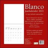 Blanco maandkalender 2021