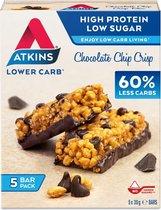 Atkins Maaltijdrepen - Chocolate Chip Crisp - 20 repen