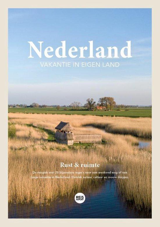 Afbeelding van Nederland reisgids 2020 - Vakantie in eigen land - Rust & ruimte + inclusief gratis app