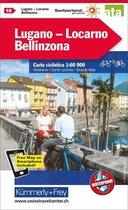 Lugano / Locarno / Bellinzona cycle map